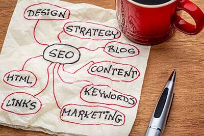 SEO strategy for online businesses