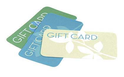 Gift Cards to help you launch your business