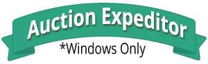 Auction Expeditor for Windows Only
