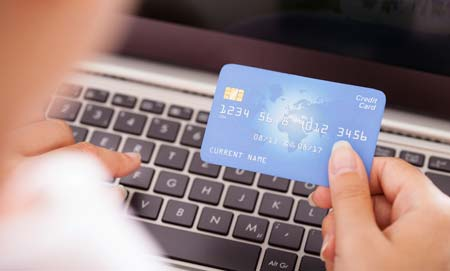 Shoppers can pay with any credit card