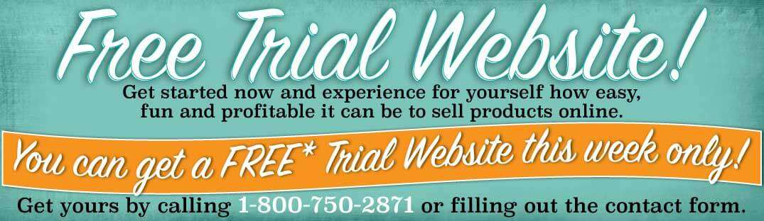 Free Trial Website this week only