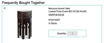 Increase sales potential with Frequently Bought Together