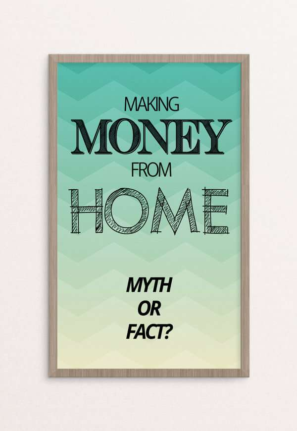 Start making money from home today