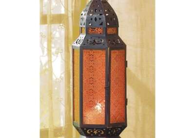 TALL MOROCCAN-STYLE CANDLE LANTERN