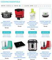 Home Cooking Appliances and more